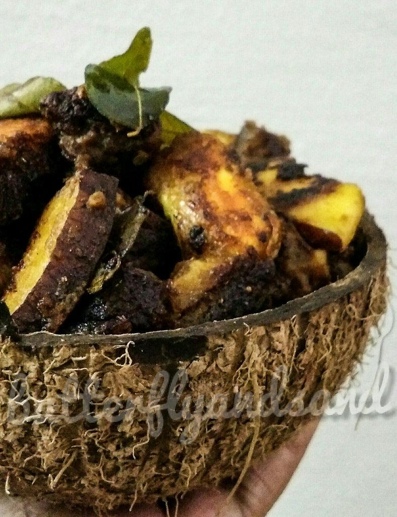 Combining two favourites… Kadachakka -Beef Roast!