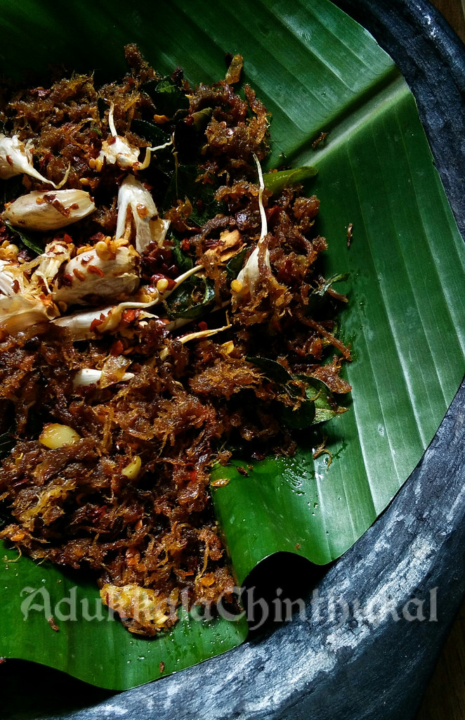 Beef Chathachathu Dry fry