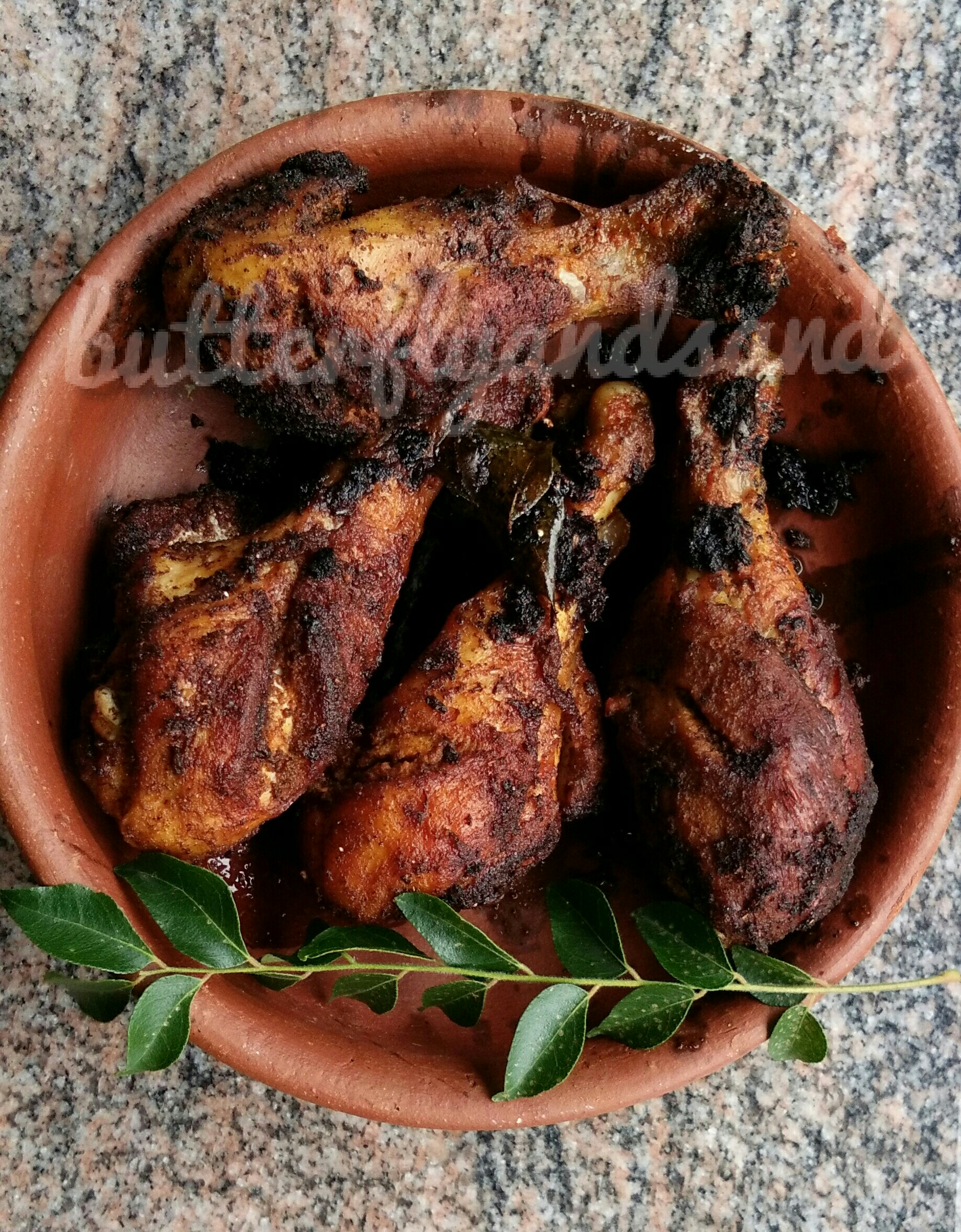 chick..chick..chicken..kerala chicken fry!