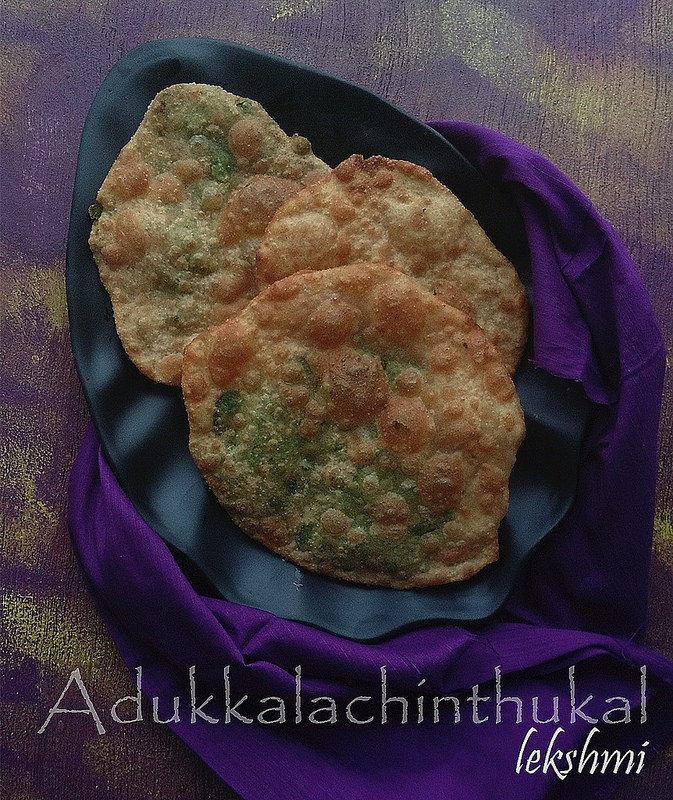 Peas stuffed Poori
