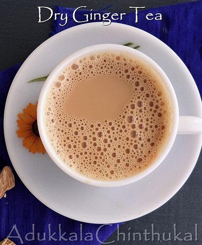 Tea-Dry Ginger/Chukku Flavor