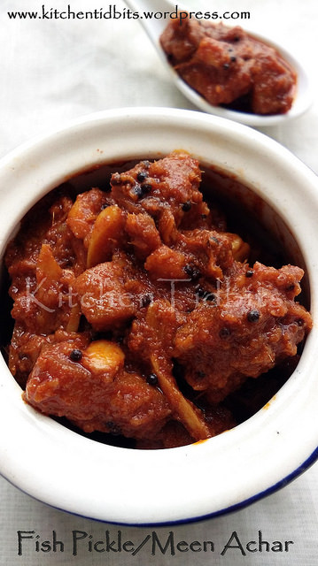Fish Pickle/Meen Achar