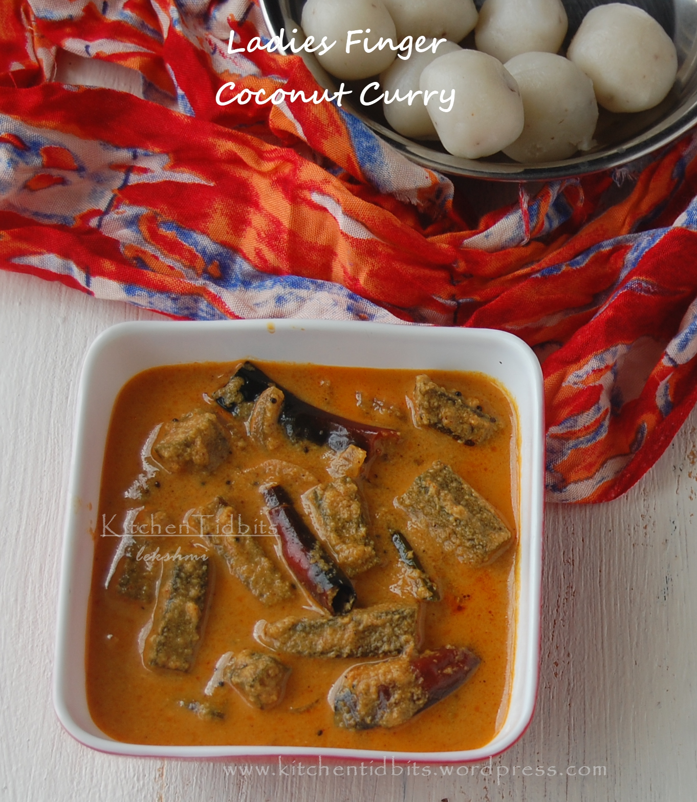 Vendakka Curry/Ladies Finger coconut curry