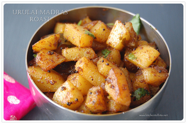 urulai madras roast/potato madras style