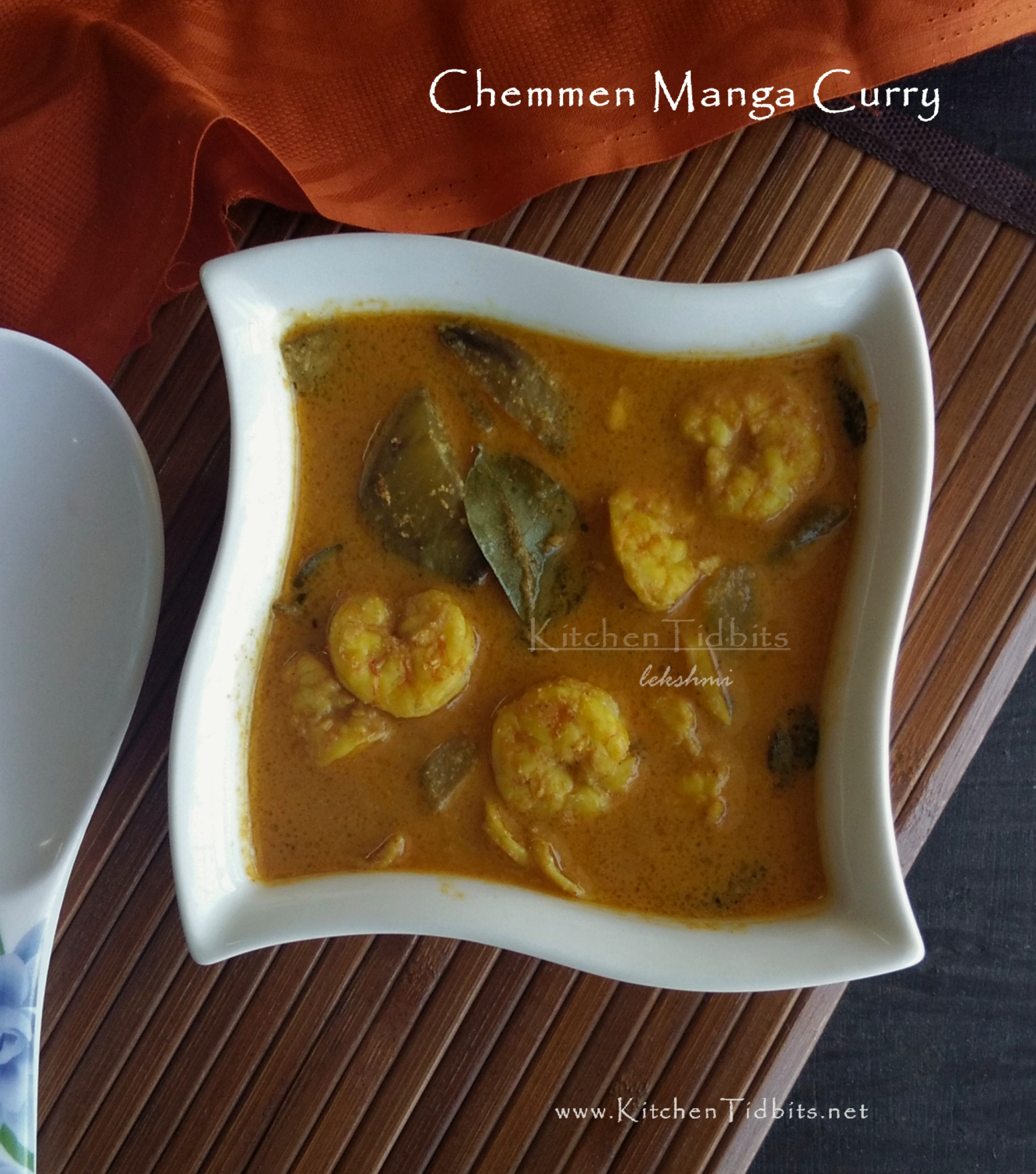 Chemmen Manga Curry/Prawns -Mango Curry